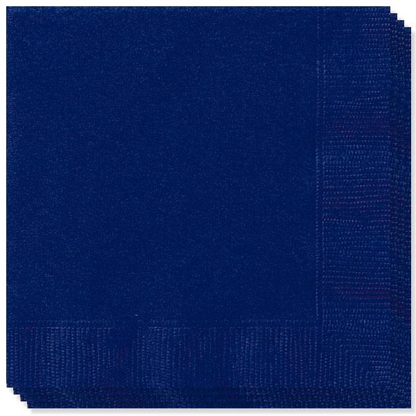 Store Blå Servietter - Pakke med 100