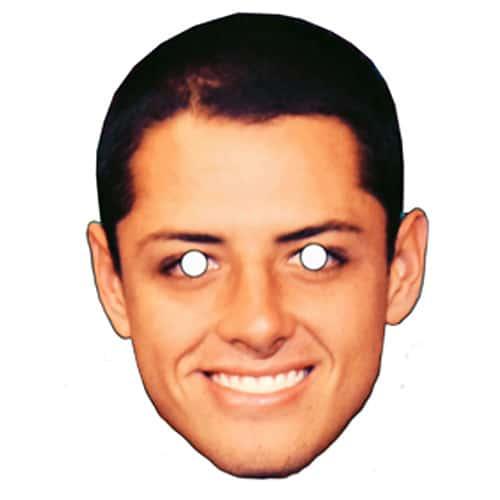 Javier Hernandez Pap Ansigtsmaske - Single