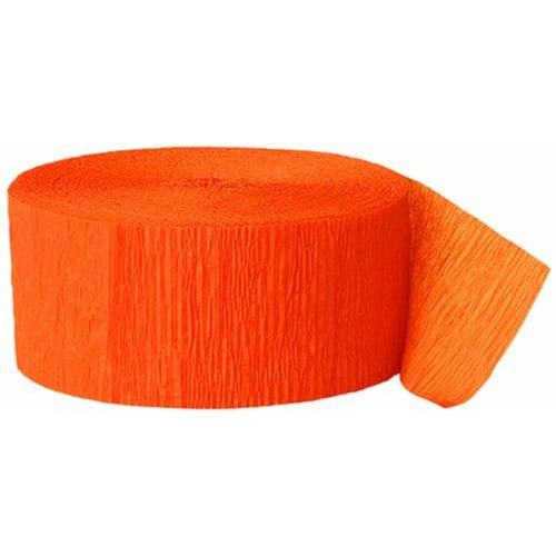 Orange Crepebånd Rulle - Single