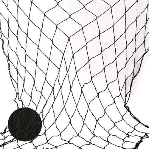 Sort Fiske Net - Single