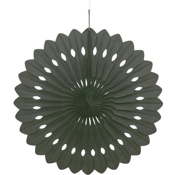 Sort Vaffelmønster Dekoration - Single