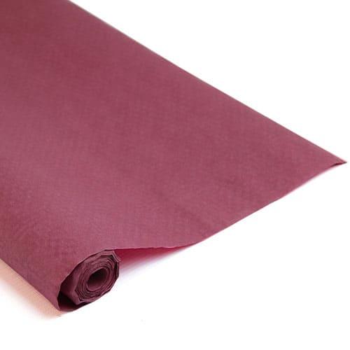 Mørkerød Papirsdug Rulle 25 x 1,2 m - Single