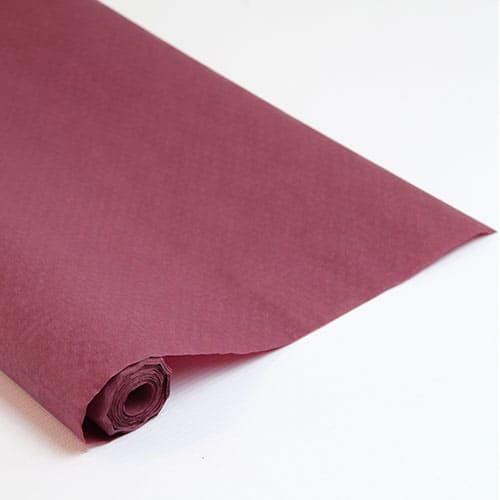 Mørkerød Papirsdug Rulle 8 x 1,2 m - Single