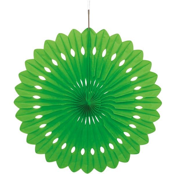 Grøn Vaffelmønster Dekoration - Single