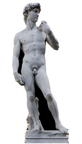 Michelangelo David Statue Papfigur 186 cm