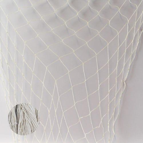 Naturfarvet Fiske Net - Single
