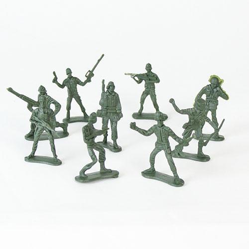 Plastik Militær Soldat - Single