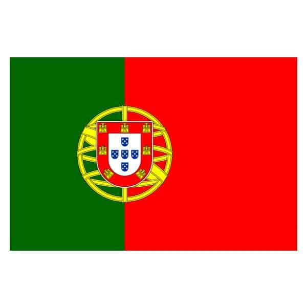 Portugal Polyester Flag 1,5 m x 91 cm - Single
