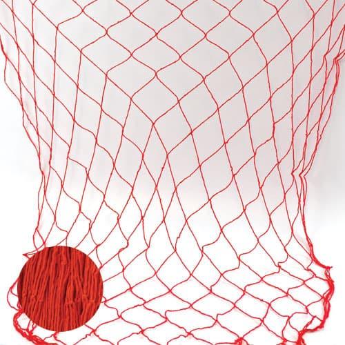 Rødt Fiske net - Single