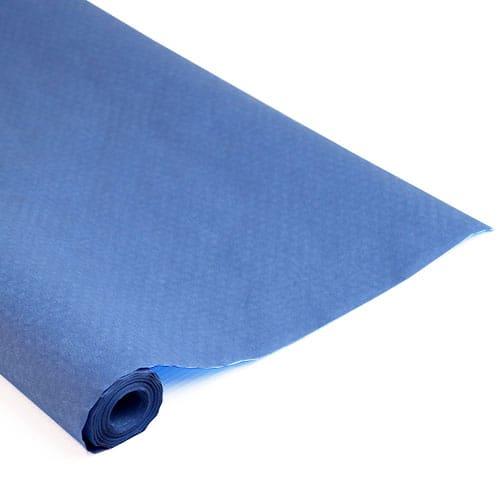 Blå Papirsdug Rulle 8 x 1,2 m - Single