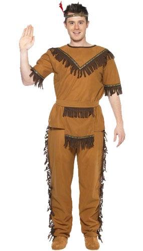 Wild West Indianer Kostume Voksen - Large