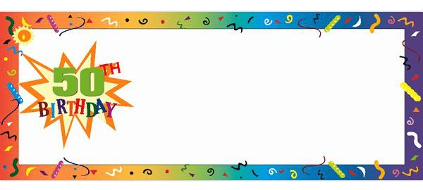 50 års Fødselsdag Bannere med Egen Tekst