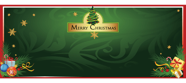 Jule Tema Bannere med Egen Tekst