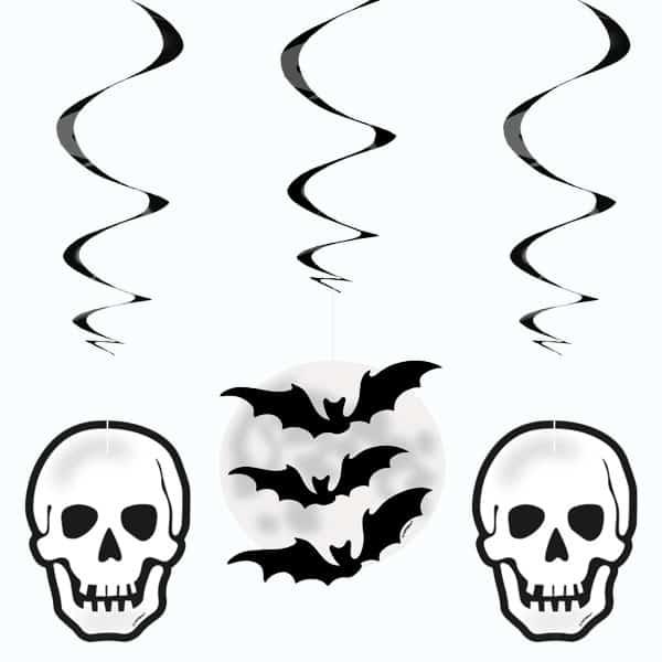 Halloween flagermus Tekst med