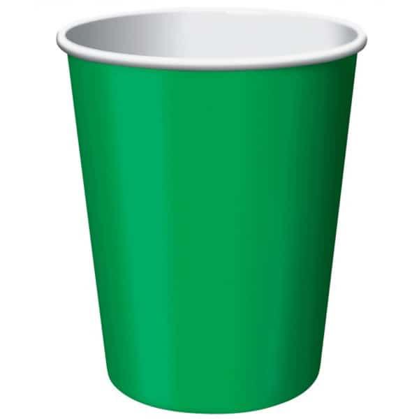 Smaragd Grøn 26 cl Pap Kop - Single