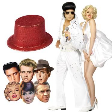 Hollywood Masker, Hatte og Kostumer