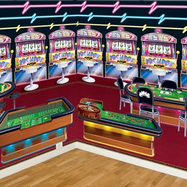 Casino og Poker Vægdekorationer