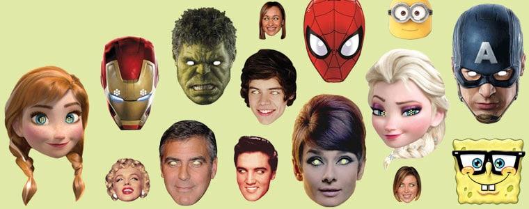 Kendte Personer Ansigtsmasker