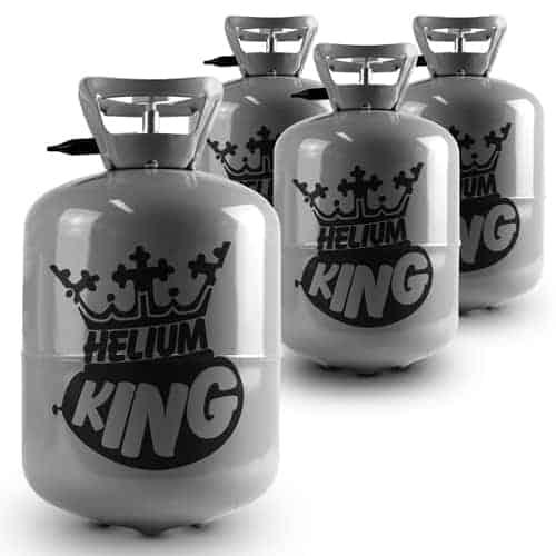 Helium til op til 120 Balloner