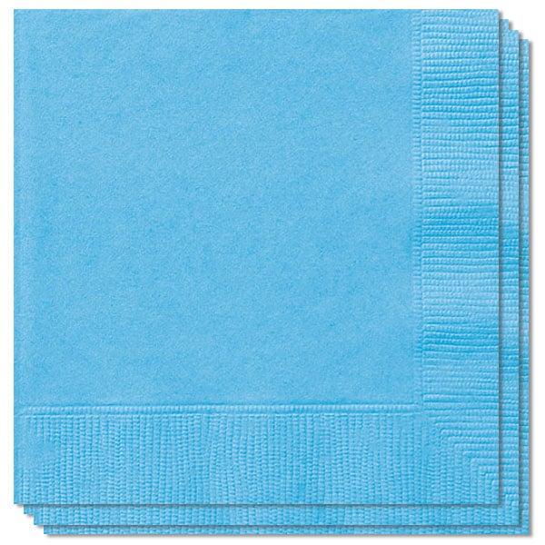 Lyseblå Servietter - Pakke med 100