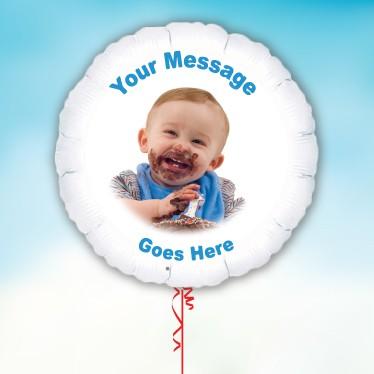 Folieballoner med Eget Foto Design