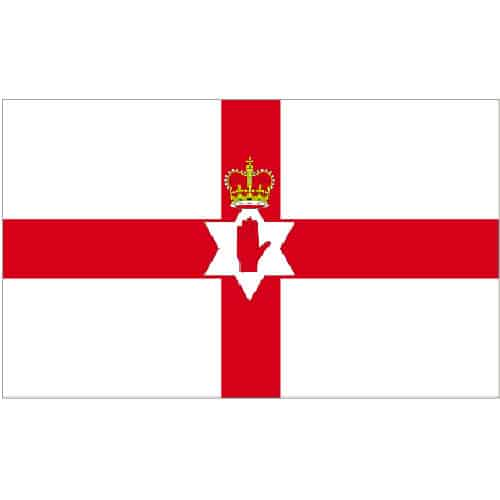 Nord Irland Polyester Flag 1,5 m x 91 cm - Single