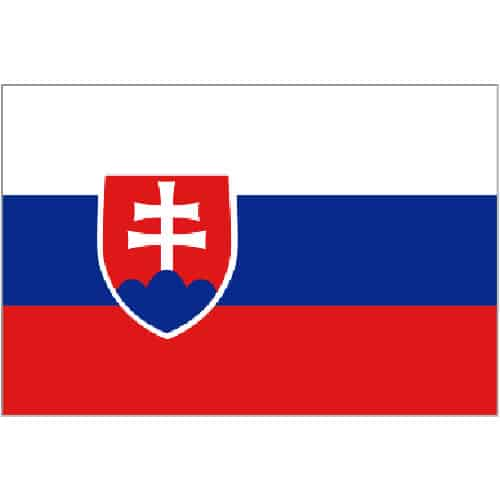 Slovakiet Flag 91 x 152 cm - Single