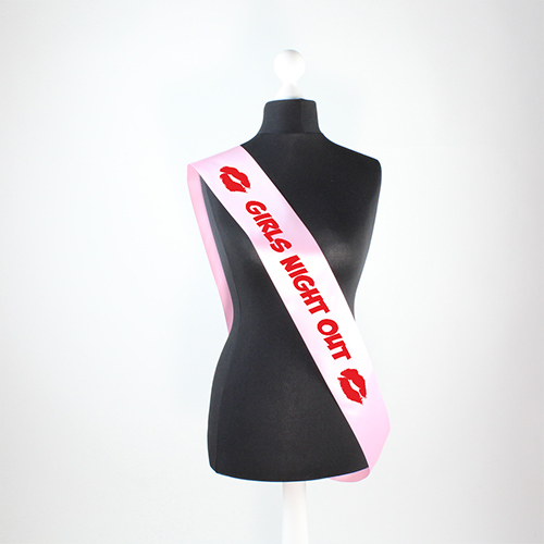 Hen Night Girls Night Out Pre-Printed Sash