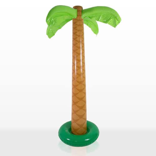 Oppusteligt Palmetræ 1,68 m - Single
