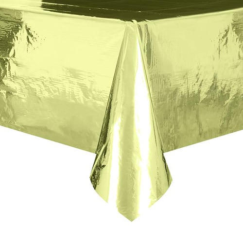 Guld Folie Dug 137 x 274 cm - Single