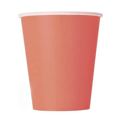 Koralfarvet Papkrus 250 ml - Single