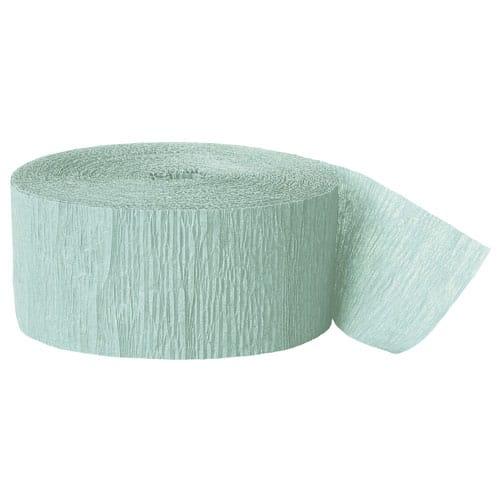 Mint Crepe Bånd Rulle 24,6 m - Single