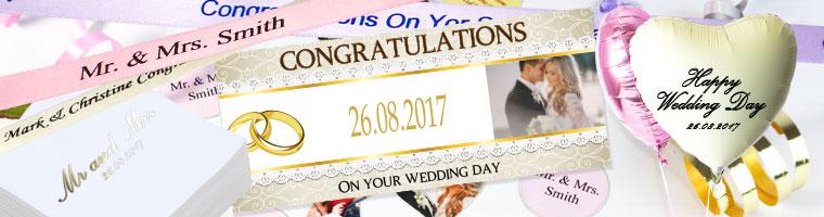 Design Dine Egne Festartikler til Brylluppet