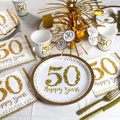 Bryllupsdag Jubilæum Festartikler