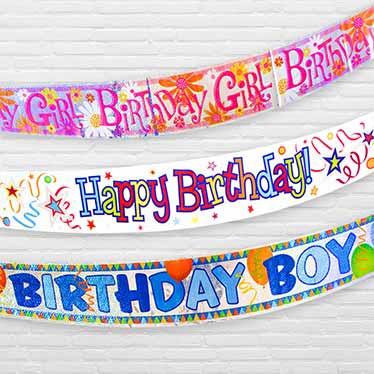 Happy Birthday Tillykke Bannere