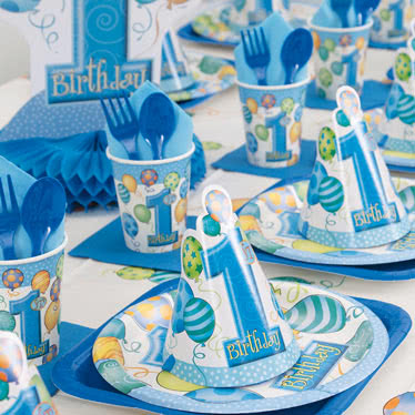 1 års Fødselsdag Festartikler