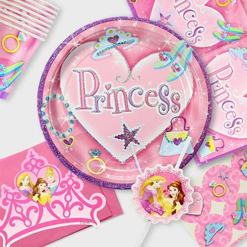 Pige Fødselsdag Tema Festartikler