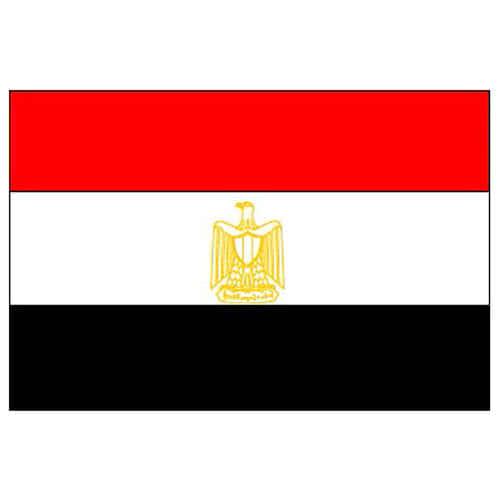 Egypten Polyester Flag 1,5 m x 91 cm - Single
