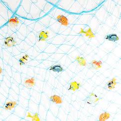 Fiskenet Dekorationer