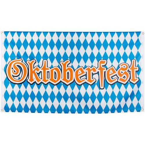 Oktoberfest Bavaria Polyester Flag 150 cm - Single
