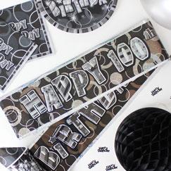 100 års Fødselsdag Bannere