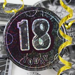 18 års Fødselsdag Fest Tilbehør