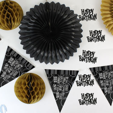 75 års Fødselsdags Dekorationer
