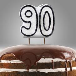 90 års Fødselsdag Lys og Stjernekastere