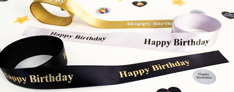 Fødselsdags Festartikler med Eget Design