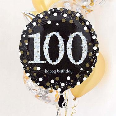 100 års Fødselsdag Balloner