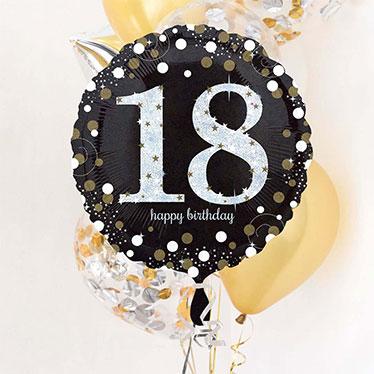 18 års Fødselsdag Balloner