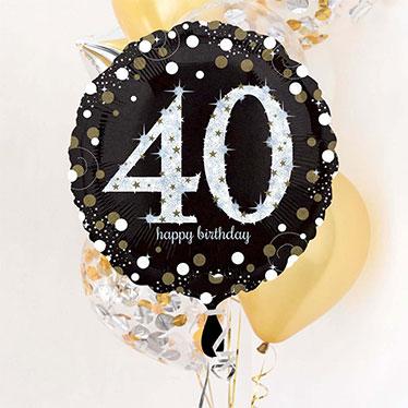 40 års Fødselsdag Balloner