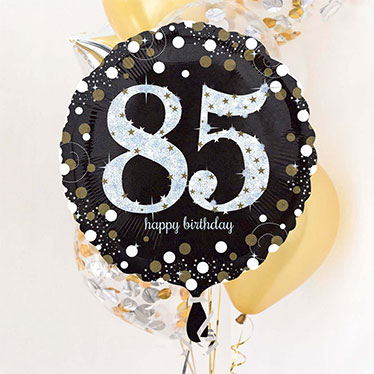 85 års Fødselsdag Balloner