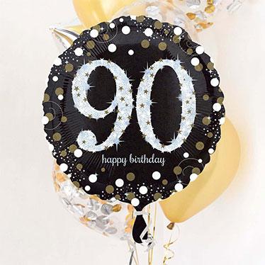 90 års Fødselsdag Balloner